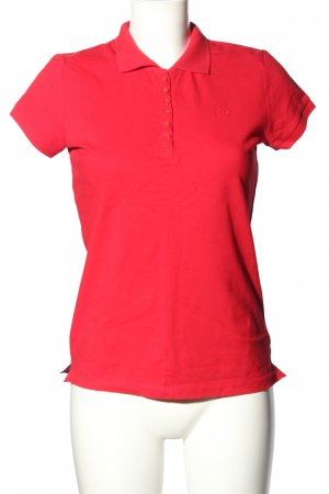 Tom Tailor Polo-Shirt rot Casual-Look