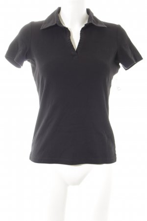 Tom Tailor Polo-Shirt schwarz sportlicher Stil
