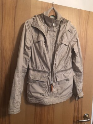 Tom Tailor Polo Team Jacke hellgrau/ beige Gr. XL
