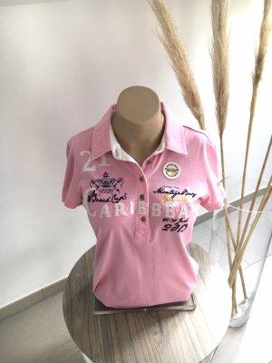 Tom Tailor Camiseta tipo polo rosa claro