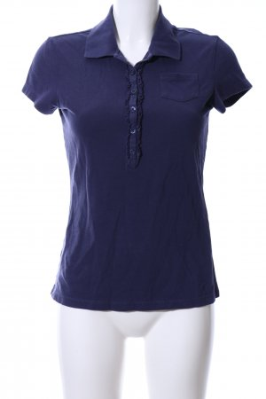 Tom Tailor Polo Top blau sportlicher Stil