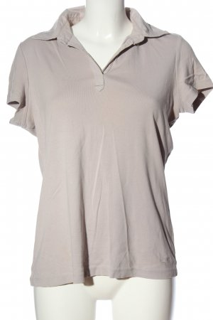 Tom Tailor Polo Top hellgrau Casual-Look