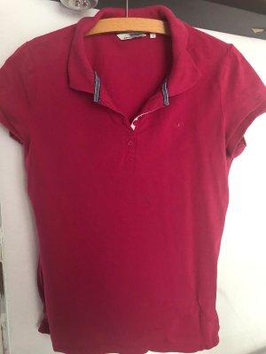 Tom Tailor Koszulka polo malina Bawełna