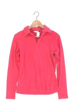 Tom Tailor Poloshirt Größe L Langarm rot aus Baumwolle