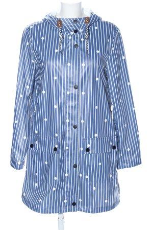 Tom Tailor Zware regenjas gestippeld patroon casual uitstraling