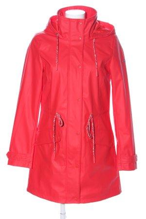 Tom Tailor Zware regenjas rood zakelijke stijl