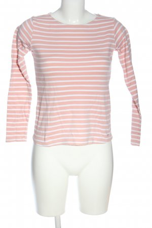 Tom Tailor Ringelshirt pink-weiß Allover-Druck Casual-Look