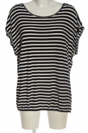 Tom Tailor Ringelshirt weiß-schwarz Streifenmuster Casual-Look