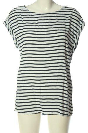 Tom Tailor Gestreept shirt wit-zwart gestreept patroon casual uitstraling
