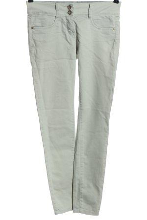 Tom Tailor Pantalone a sigaretta grigio chiaro stile casual