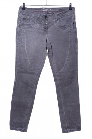 Tom Tailor Röhrenhose hellgrau Casual-Look