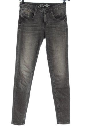 Tom Tailor Jeans cigarette gris clair style décontracté