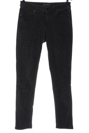 Tom Tailor Jeans cigarette noir style décontracté