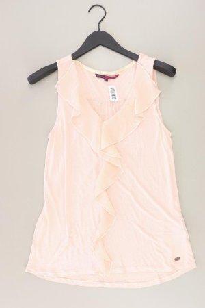 Tom Tailor Ruche blouse lichtroze-roze-roze-neonroos Viscose