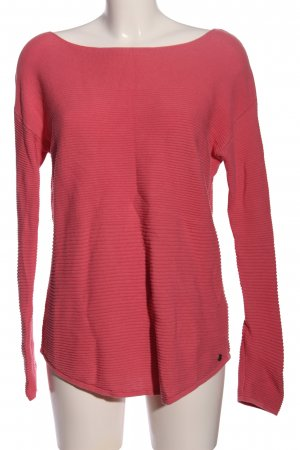 Tom Tailor Rundhalspullover pink Casual-Look