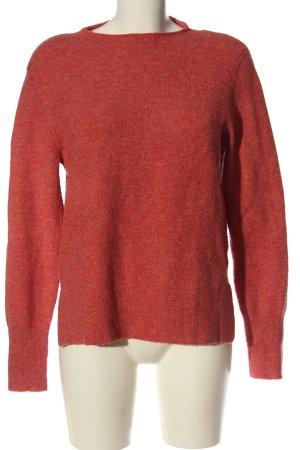 Tom Tailor Sweter z okrągłym dekoltem czerwony W stylu casual