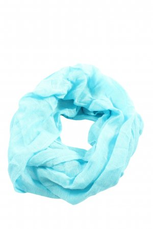 Tom Tailor Rundschal blau Webmuster Casual-Look
