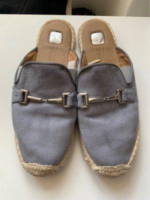 Tom Tailor Denim Espadrille Sandals light grey-grey