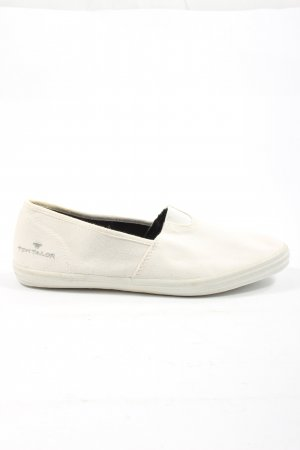 Tom Tailor Slip-on Sneakers white casual look
