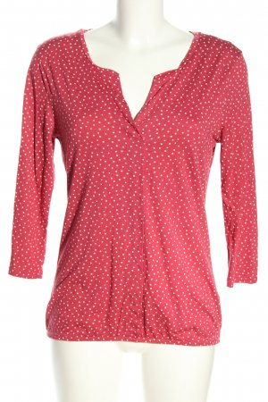 Tom Tailor Schlupf-Bluse pink-wollweiß Casual-Look