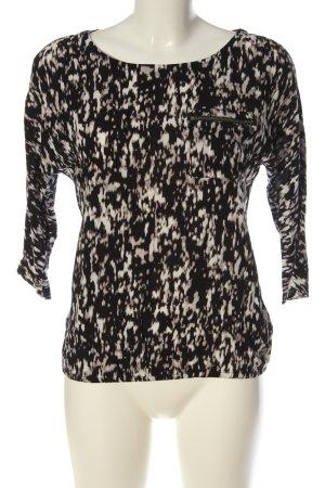 Tom Tailor Schlupf-Bluse abstraktes Muster Casual-Look