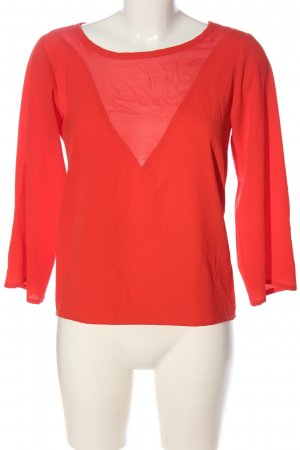 Tom Tailor Schlupf-Bluse rot Casual-Look