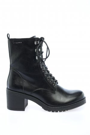 Tom Tailor Lace-up Booties black casual look