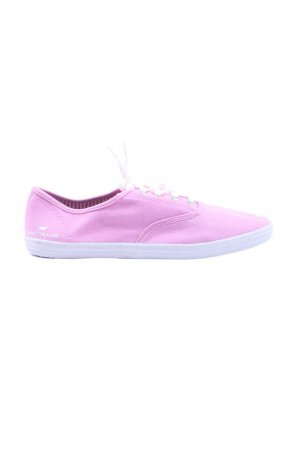 Tom Tailor Schnürsneaker pink-weiß Casual-Look
