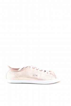 Lacoste Schnürsneaker creme Casual-Look