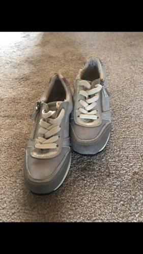 Tom Tailor Zapatos brogue gris claro-color plata