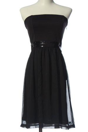 Tom Tailor schulterfreies Kleid schwarz Elegant