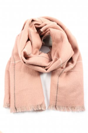 Tom Tailor Shoulder Scarf nude check pattern casual look