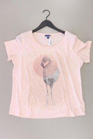Tom Tailor Shirt pink Tierdruck Größe XXL