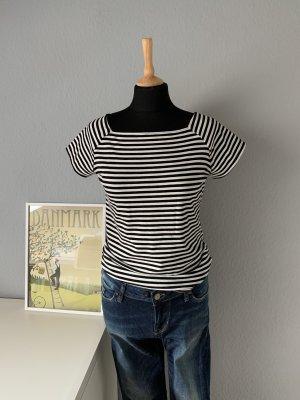 Tom Tailor Stripe Shirt black-white