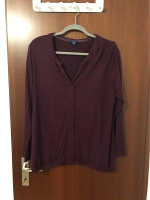 Tom Tailor Gebreid shirt bruin-paars