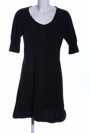 Tom Tailor Shirtkleid schwarz Casual-Look