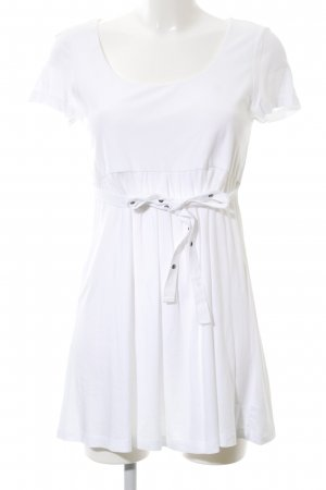 Tom Tailor Shirtkleid weiß Casual-Look