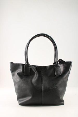 Tom Tailor Shopper noir style décontracté