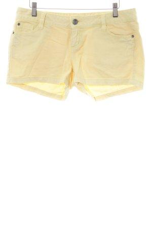 Tom Tailor Shorts blassgelb Casual-Look
