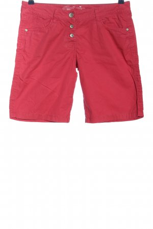 Tom Tailor Shorts rot Casual-Look