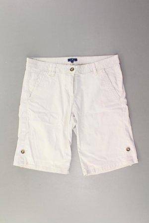 Tom Tailor Shorts Größe M creme aus Baumwolle