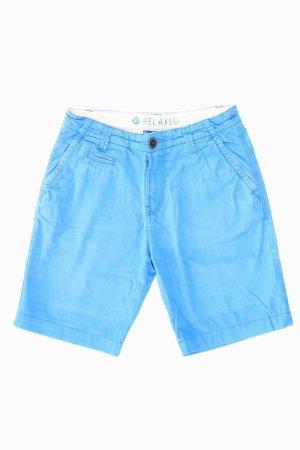 Tom Tailor Shorts Größe W28 blau aus Baumwolle