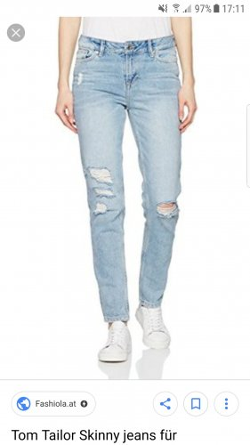 Tom Tailor Skinny Boyfriend Jeans
