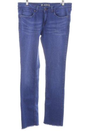 Tom Tailor Skinny Jeans blau Casual-Look
