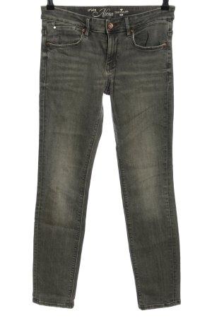 Tom Tailor Skinny Jeans hellgrau Casual-Look