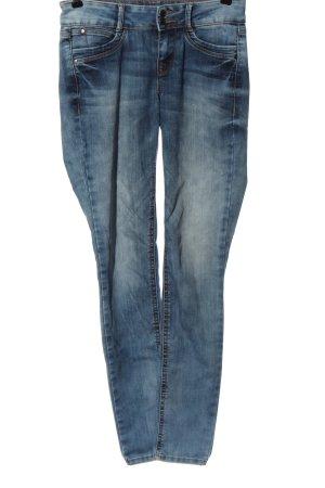 Tom Tailor Jeansy o obcisłym kroju niebieski W stylu casual