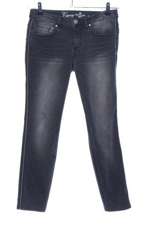 Tom Tailor Skinny Jeans schwarz-hellgrau Casual-Look