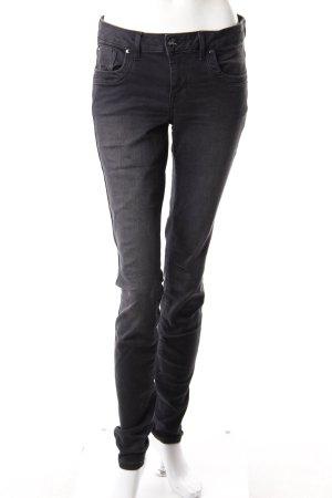 Tom Tailor Skinny Jeans grau-schwarz