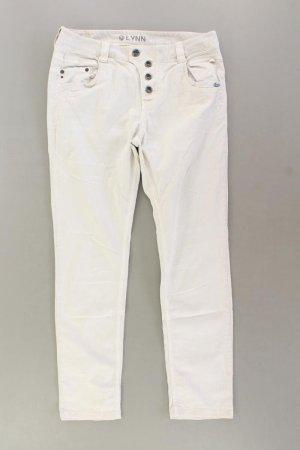 Tom Tailor Skinny Jeans Größe 40 creme aus Baumwolle