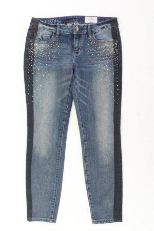Tom Tailor Jeans skinny blu-blu neon-blu scuro-azzurro Cotone